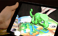 Augmented reality in children's books